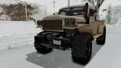 GTA 5 Bravado Duneloader Cleaner Worn para GTA San Andreas