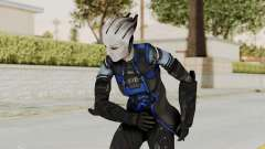 Mass Effect 3 Liara DLC Alt Costume para GTA San Andreas