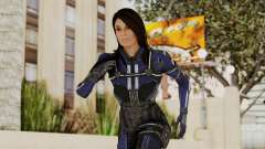 Mass Effect 3 Ashley Williams Ashes DLC Armor para GTA San Andreas