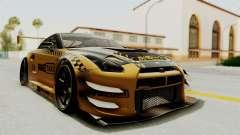 Nissan GT-R Fake Taxi para GTA San Andreas
