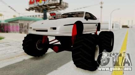 Pontiac Fiero GT G97 1985 Monster Truck para GTA San Andreas