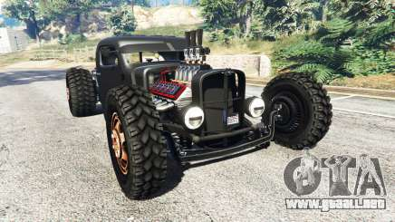 Dumont Type 47 Rat Rod para GTA 5