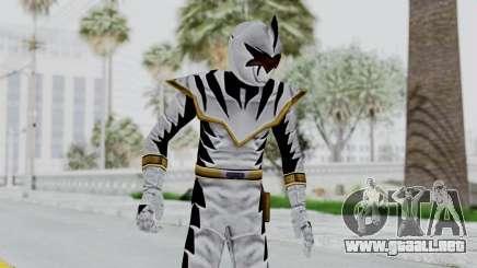 Power Rangers Dino Thunder - White para GTA San Andreas