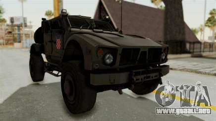 Croatian Oshkosh M-ATV Desert para GTA San Andreas