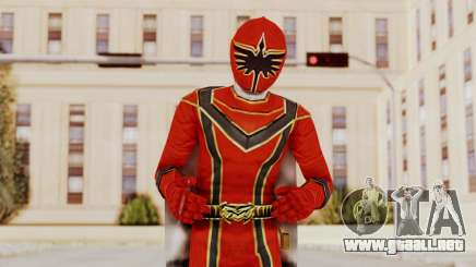 Power Rangers Mystic Force - Red para GTA San Andreas