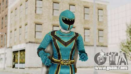 Power Rangers Mystic Force - Blue para GTA San Andreas