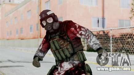 Black Mesa - Wounded HECU Marine Medic v2 para GTA San Andreas