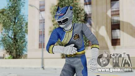 Power Rangers Wild Force - Wolf para GTA San Andreas