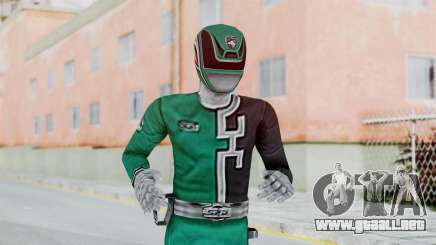 Power Rangers RPM - Green para GTA San Andreas