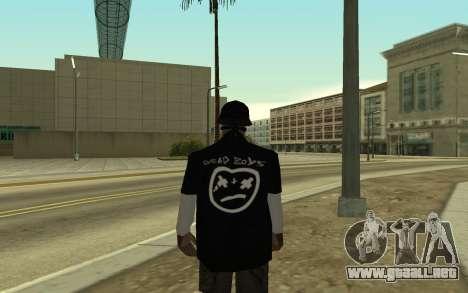 Ballas Gang Member para GTA San Andreas segunda pantalla