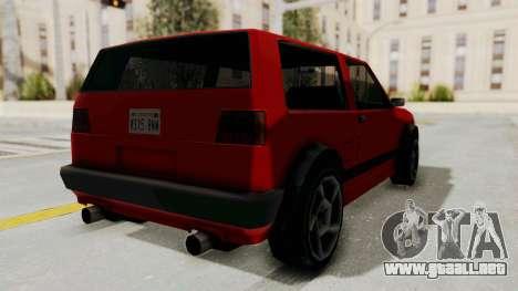 Club GTI para la visión correcta GTA San Andreas