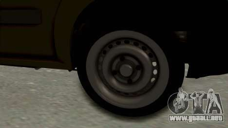 Dacia Logan MCV Van para GTA San Andreas vista hacia atrás