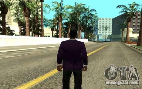 Jizzy para GTA San Andreas segunda pantalla