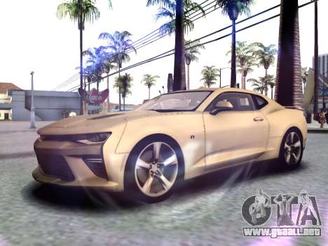 Chevrolet Camaro SS 2016 para GTA San Andreas left