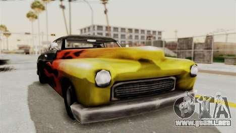 Beta VC Cuban Hermes para la visión correcta GTA San Andreas