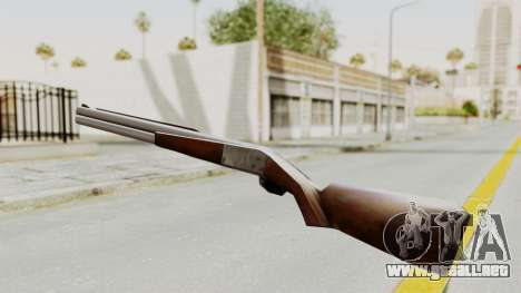 Liberty City Stories Shotgun para GTA San Andreas segunda pantalla