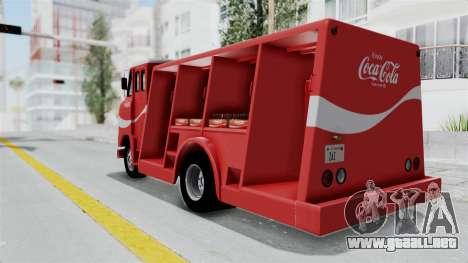 Ford P600 1964 Coca-Cola Delivery Truck para la visión correcta GTA San Andreas