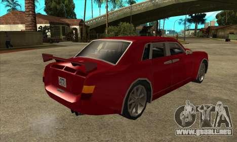 Rolls Royce Phantom para la visión correcta GTA San Andreas