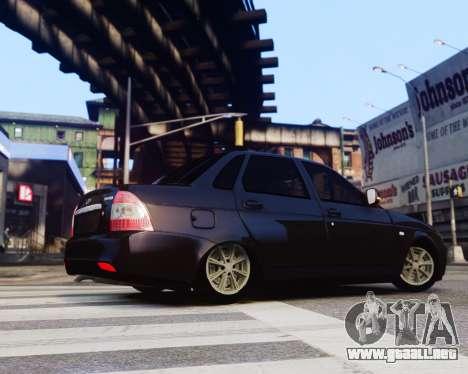 Lada Priora para GTA 4 left
