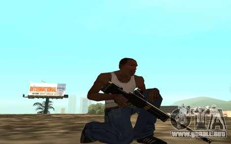 Golden weapon pack para GTA San Andreas séptima pantalla