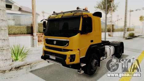 Volvo FMX Euro 5 4x2 para la visión correcta GTA San Andreas