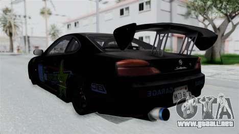 Nissan Silvia S15 RDT para GTA San Andreas left