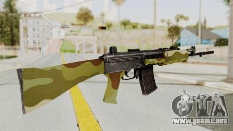IOFB INSAS Camo v1 para GTA San Andreas segunda pantalla