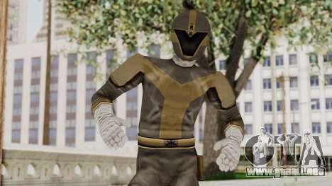 Power Rangers Lightspeed Rescue - Titanium para GTA San Andreas