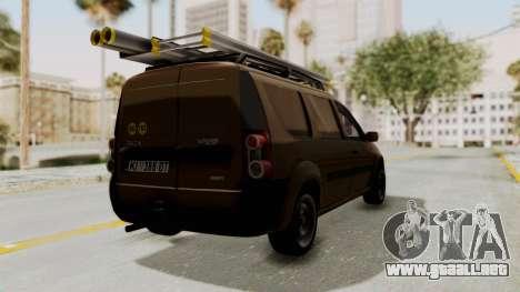 Dacia Logan MCV Van para la visión correcta GTA San Andreas