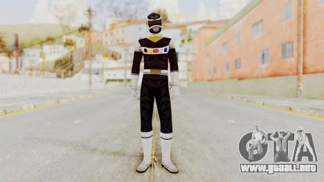 Power Rangers In Space - Black para GTA San Andreas segunda pantalla