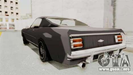 Dominator Classic para GTA San Andreas left