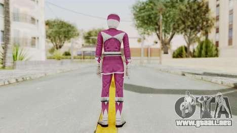 Mighty Morphin Power Rangers - Pink para GTA San Andreas tercera pantalla
