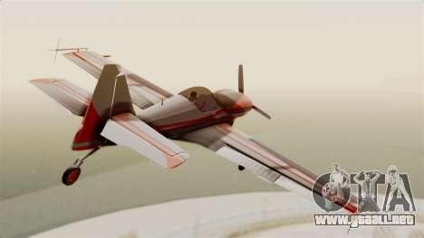 Zlin Z-50 LS Classic para la visión correcta GTA San Andreas