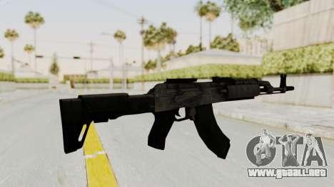 AK-47 Modern para GTA San Andreas tercera pantalla