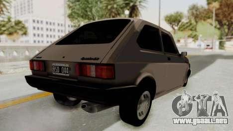 Fiat 147 TR De Picadas para la visión correcta GTA San Andreas