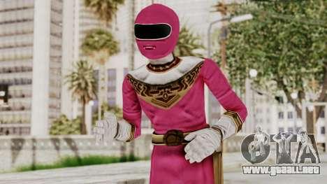 Power Ranger Zeo - Pink para GTA San Andreas