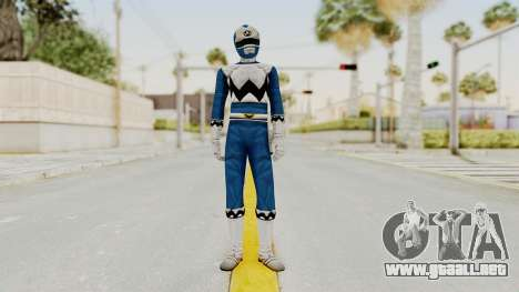 Power Rangers Lost Galaxy - Blue para GTA San Andreas segunda pantalla