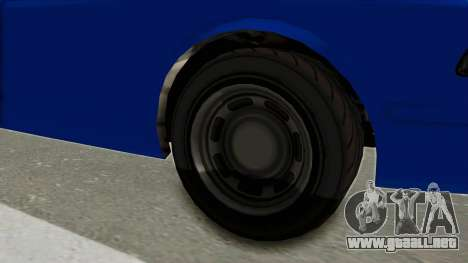 GTA 5 Vapid Stanier II Police Cruiser 2 para GTA San Andreas vista hacia atrás