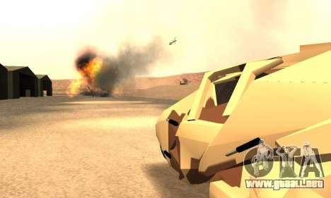 Army Tumbler Rocket Launcher from TDKR para la vista superior GTA San Andreas