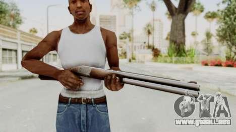 Liberty City Stories Shotgun para GTA San Andreas tercera pantalla