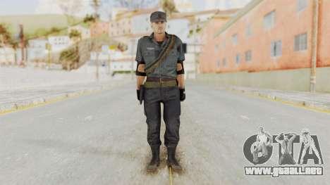 MGSV Phantom Pain Zero Risk Security LMG v2 para GTA San Andreas segunda pantalla