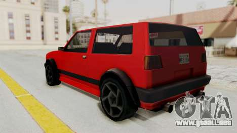 Club GTI para GTA San Andreas left