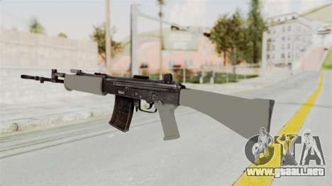 IOFB INSAS Grey para GTA San Andreas segunda pantalla