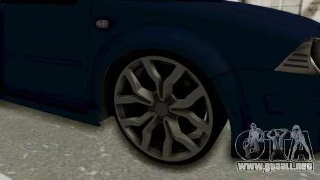 Volkswagen Bora 1.8T para GTA San Andreas vista hacia atrás
