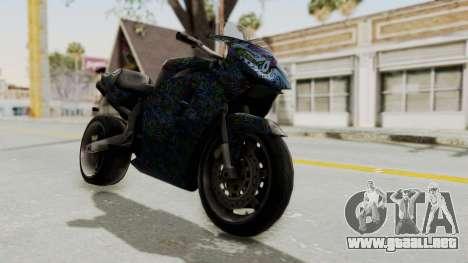 FCR-900 Stunt para la visión correcta GTA San Andreas