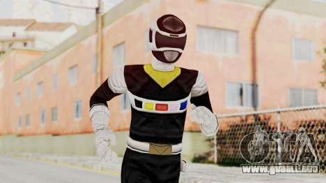 Power Rangers In Space - Black para GTA San Andreas