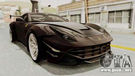 Ferrari F12 Berlinetta Drift para GTA San Andreas