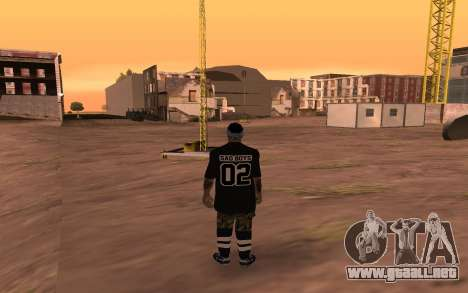 San Fierro Rifa Member para GTA San Andreas segunda pantalla