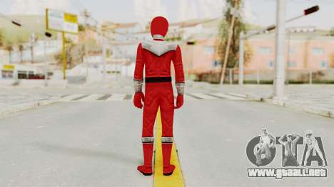 Power Rangers Time Force - Red para GTA San Andreas tercera pantalla