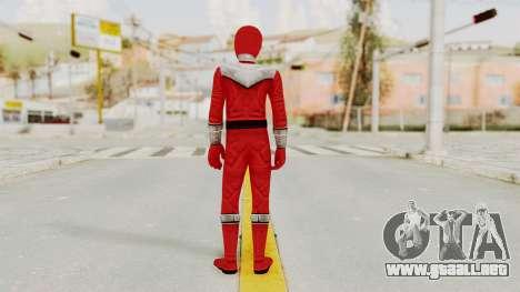 Power Rangers Time Force - Red para GTA San Andreas tercera pantalla
